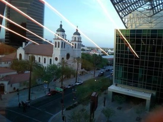 Phoenix Civic Plaza Convention Center: View of St Mary's Basilica from Convention center