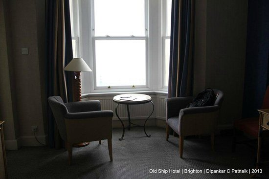 The Old Ship Hotel: Room