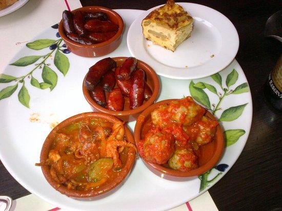 Vivolo Restaurant: Meat balls, sausages,.......
