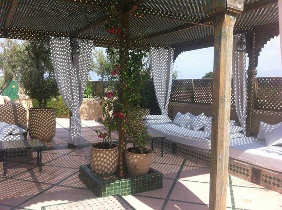 Les Jardins de la Medina: rooftop terrace