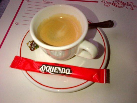 Vivolo Restaurant: bad coffee