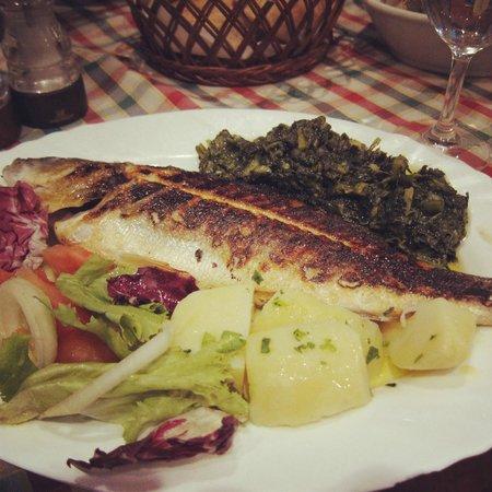 Konoba Hvaranin: grilled trout