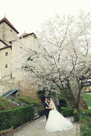 Hotel Burg Wernberg: Burggraben