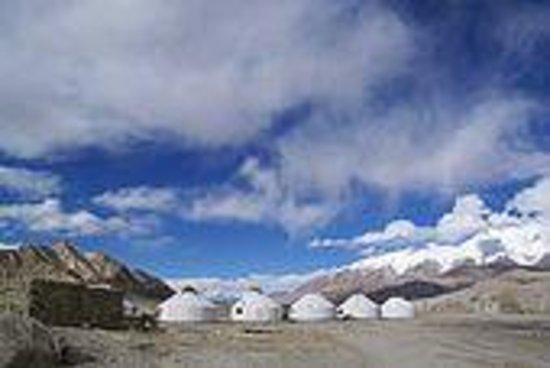 塔吉克牧民村落