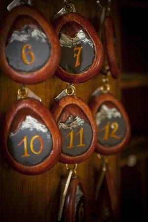 Hotel De Londres : le tableau des clefs