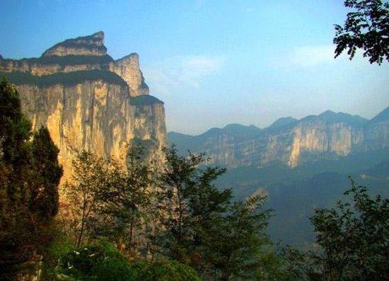 Wushan Mountain in Enshi