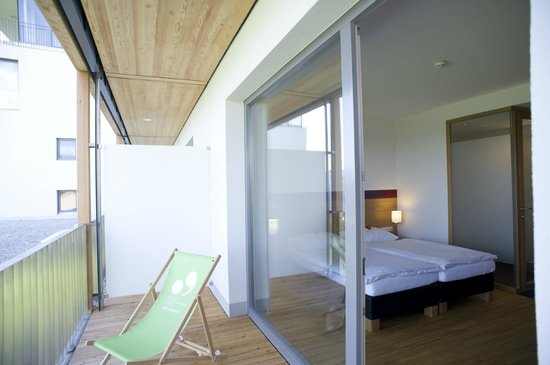 SPES Hotel: Zimmer mit Balkon
