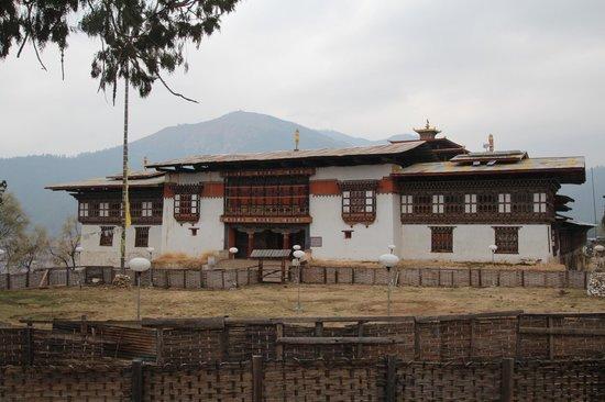 Phobjikha Valley: Nyingmapa monastery, Gangtey goemba