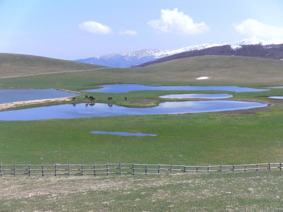 Monti Sibillini: Ai Pantani di Accumoli