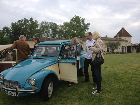 Escapade en vehicules anciens : Getting instructions
