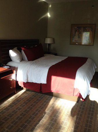 La Cuesta Inn: King bed -- nice pillows!!