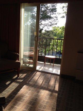 La Cuesta Inn: Sunny balcony