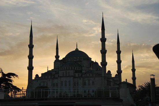 Hotel Sari Konak: View from rooftop terrace