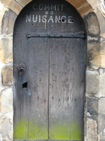 St Albans Clock Tower: Old Door(disused)