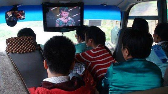 Dien Bien Phu : on the bus