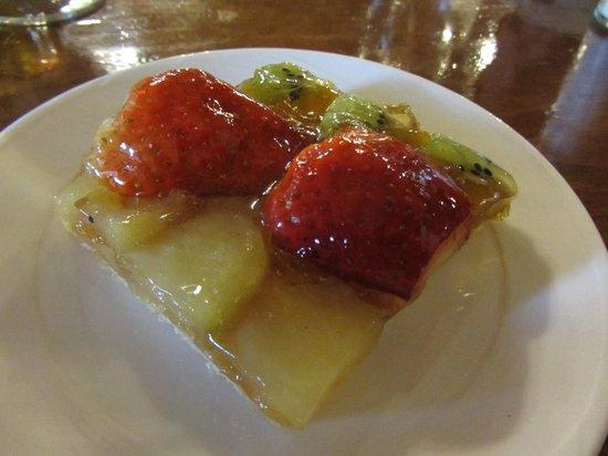 Celler El Moli: fruit tart