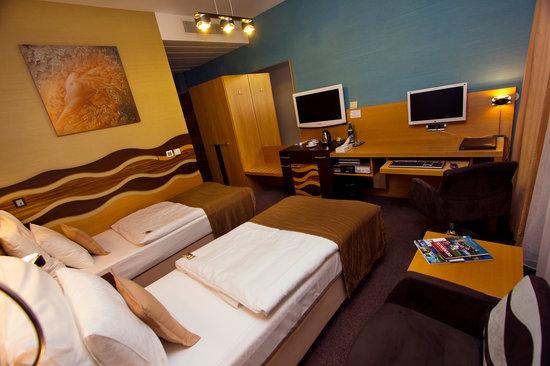 Hotel Danubia Gate Bratislava: Twin room