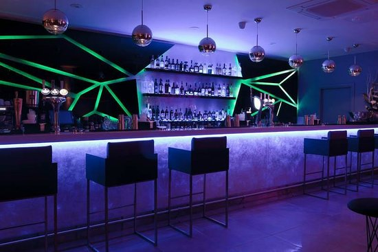 Bar with green lights picture of bar blanco rayleigh tripadvisor bar blanco bar with green lights aloadofball Image collections
