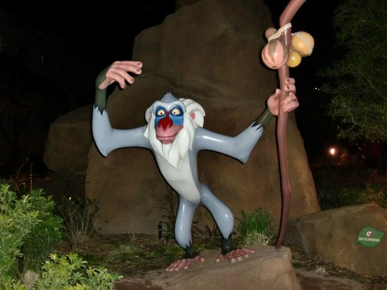 Disney's Art of Animation Resort: Affe