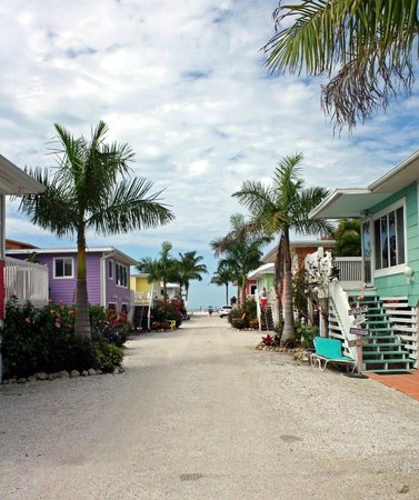 Cottages of Paradise Point: Cottages mit dem 'langen' Weg zum Meer