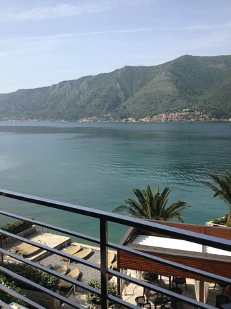 Forza Mare Hotel: view from room