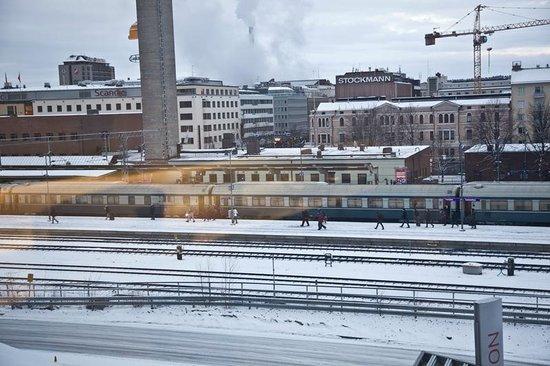 Scandic Tampere Station: railway station