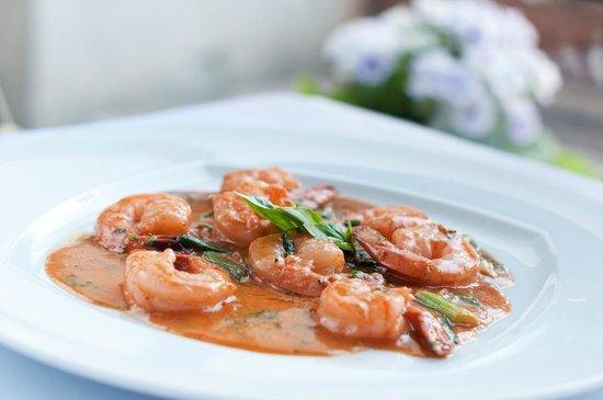 Mancini: Tandoori Stir fried Shrimps