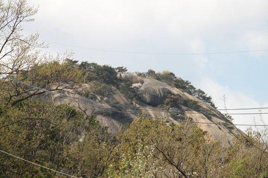 Inwangsan Mountain: Top of Mt Inwangsan