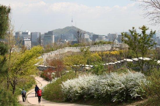 Inwangsan Mountain: Fortress Wall on Mt Inwangsan