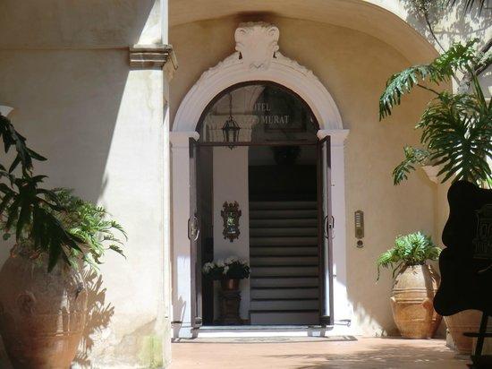 Hotel Palazzo Murat: Eingang