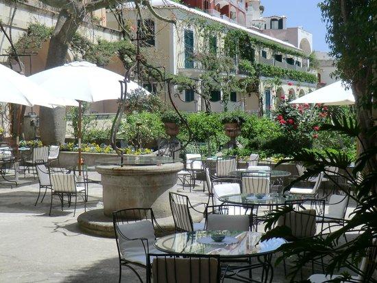 Hotel Palazzo Murat: Terrasse