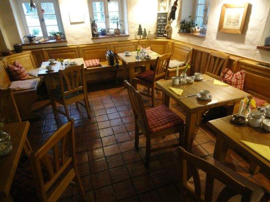 Hexenhaus: La saletta per la colazione