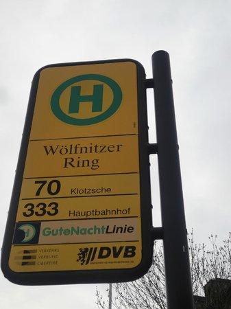 Hexenhaus: La fermata dell'autobus piu vicina