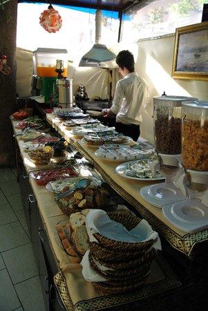 Sultanahmet Park Hotel: Breakfast