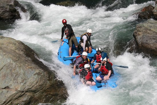 American whitewater expedition