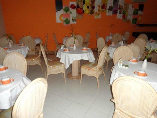 Frangaria Hospedaria: dining