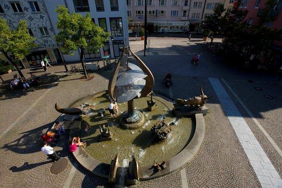 Buchhornbrunnen Friedrichshafen