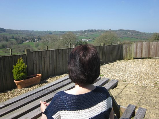 Courtmoor Farm Cottages: View from Stable garden