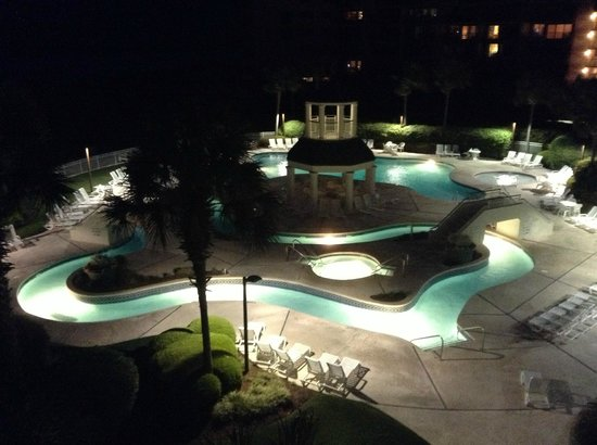 Litchfield Beach & Golf Resort: Bridgewater Lazy river and hot tub