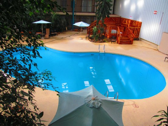 Rodeway Inn Cow Palace: Pool and hot tub