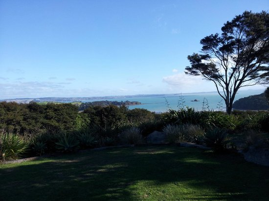 Koi Roc Waiheke Island Accommodation: The spectacular view