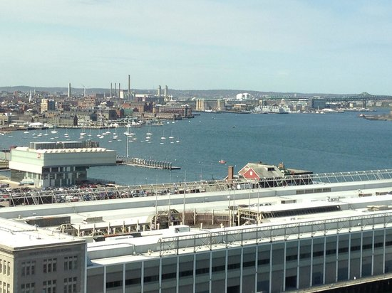 Renaissance Boston Waterfront Hotel: View from room...wonderful