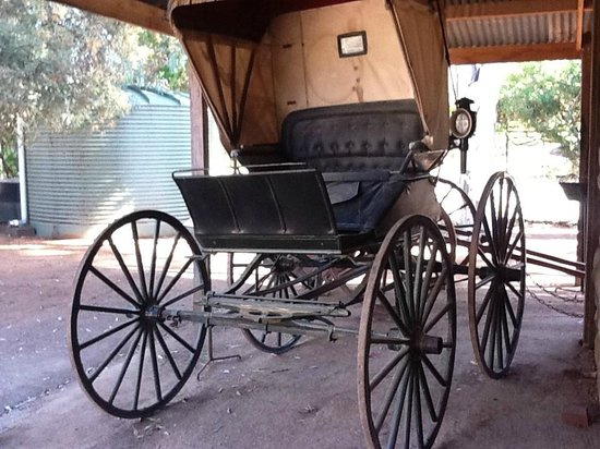 Nineteenth C cart, Pioneer Settlement