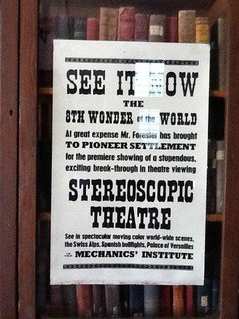 Stereoscopic theatre, Pioneer Settlement
