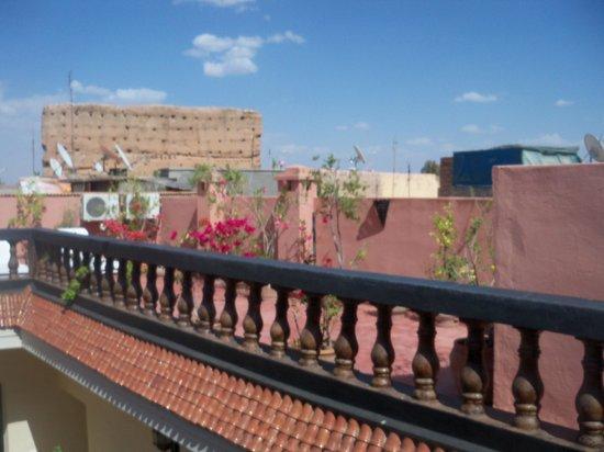 Riad El Farah: The roof terrace