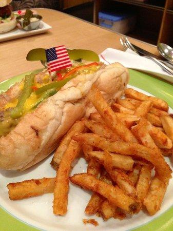 Mr. Jones: Mr Jones hotdog