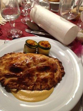 Hotel Restaurant Le Patio Del Sol : dartois riz petit légumes au saumon
