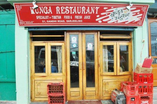 Kunga Restaurant: kunga upfront