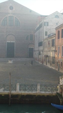 Al Bailo di Venezia: la piazzetta antistante