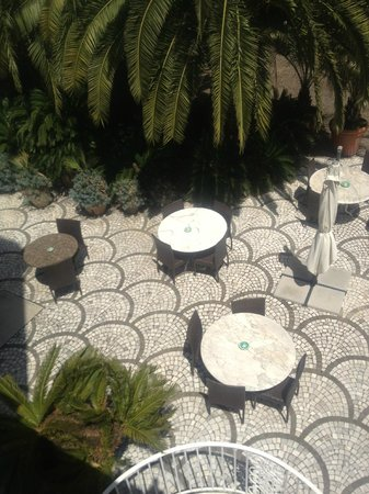 Villa dei D'Armiento: breakfast area